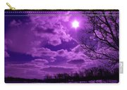 Sunburst In Violet Carry-all Pouch