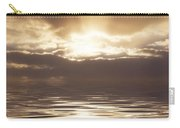 Sunburst Over Water Carry-all Pouch