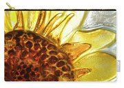 Sunburst Sunflower Carry-all Pouch