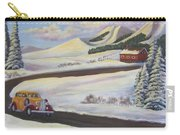 Sunday Drive In Winter Wonderland Carry-all Pouch