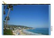 Sunday On Laguna Beach Carry-all Pouch