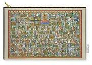Sunder Kand- Ramayana Phad Carry-all Pouch