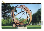 Sundial At American Legion Post, Indianapolis, Indiana Carry-all Pouch