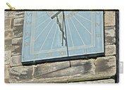 Sundial On St Mary's Church - Tutbury Carry-all Pouch