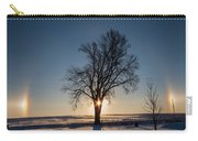 Sundogs Around A Tree Carry-all Pouch