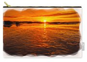Sundown At Low Tide 2 Carry-all Pouch