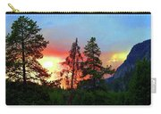 Sundown In Yellowstone Carry-all Pouch