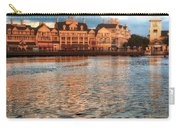 Sundown On The Boardwalk Walt Disney World Carry-all Pouch