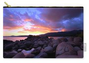 Sundown On The Rocks Carry-all Pouch