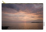 Sundown Over The Adriatic Coastline Carry-all Pouch