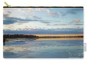 Sundown With Water On Ice Carry-all Pouch