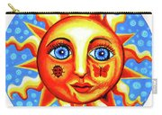 Sunface With Ladybug Carry-all Pouch