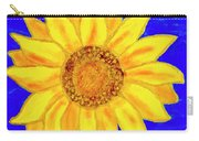Sunflower, Acrylic Painting Carry-all Pouch