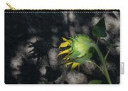 Sunflower And Shadow Carry-all Pouch
