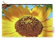Sunflower Art Prints Orange Yellow Floral Garden Baslee Troutman Carry-all Pouch