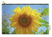 Sunflower Art Prints Sun Flower 2 Giclee Prints Baslee Troutman Carry-all Pouch