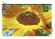 Sunflower Art Prints Sun Flowers Gilcee Prints Baslee Troutman Carry-all Pouch