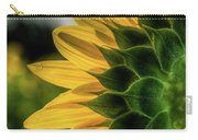 Sunflower Blooming Detailed Carry-all Pouch by Dennis Dame