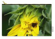 Sunflower Bud Carry-all Pouch