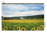 Sunflower Country Landscape  Carry-all Pouch
