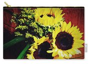 Sunflower Decor 3 Carry-all Pouch