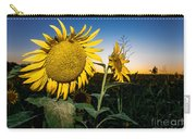 Sunflower Evening Carry-all Pouch