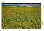 Sunflower Farm In Northwest North Dakota  Carry-all Pouch