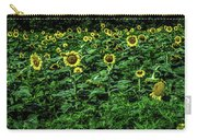 Sunflower Field Panorama Carry-all Pouch