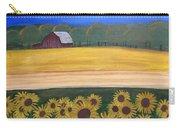 Sunflower Fields Carry-all Pouch