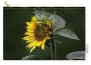 Sunflower Fractalius Beauty Carry-all Pouch
