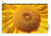 Sunflower Head  Carry-all Pouch