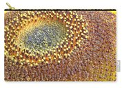 Sunflower Heart Carry-all Pouch