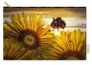 Sunflower Heaven Carry-all Pouch