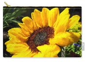 Sunflower Impression Carry-all Pouch