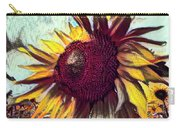 Sunflower In Deep Tones Carry-all Pouch