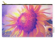 Sunflower Oil Painting Carry-all Pouch