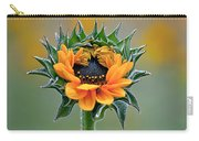 Sunflower Opens Carry-all Pouch