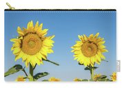 Sunflower Pair Carry-all Pouch