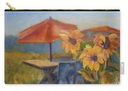 Sunflower Picnic Carry-all Pouch
