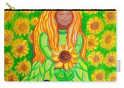 Sunflower Princess Carry-all Pouch