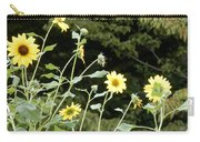 Sunflower Sea Of Happiness Carry-all Pouch