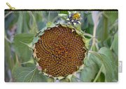 Sunflower Seedhead Carry-all Pouch