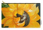 Sunflower Solo Carry-all Pouch