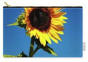 Sunflower Stand Alone Carry-all Pouch