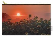 Sunflower Sundown Carry-all Pouch