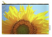 Sunflower Sunlit Sun Flowers Giclee Art Prints Baslee Troutman Carry-all Pouch