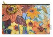 Sunflower Tropics Part 1 Carry-all Pouch