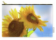 Sunflower Twins Carry-all Pouch