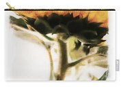 Sunflower Watercolor Carry-all Pouch