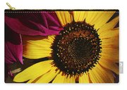 Sunflower With Dahlia Carry-all Pouch